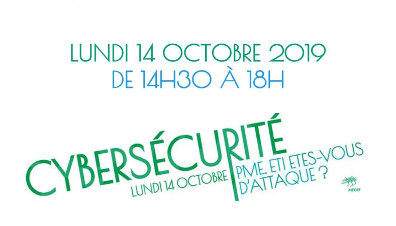 Cybermois : événement cybersécurité au MEDEF