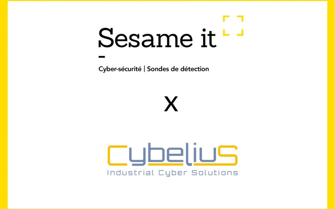 [Communiqué de presse] Cybelius et Sesame IT joignent leurs forces pour proposer une sonde durcie pour les réseaux critiques