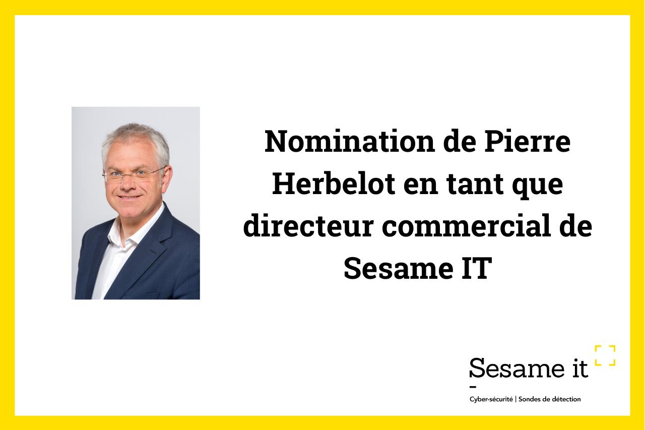 Visuel nomination Pierre Herbelot