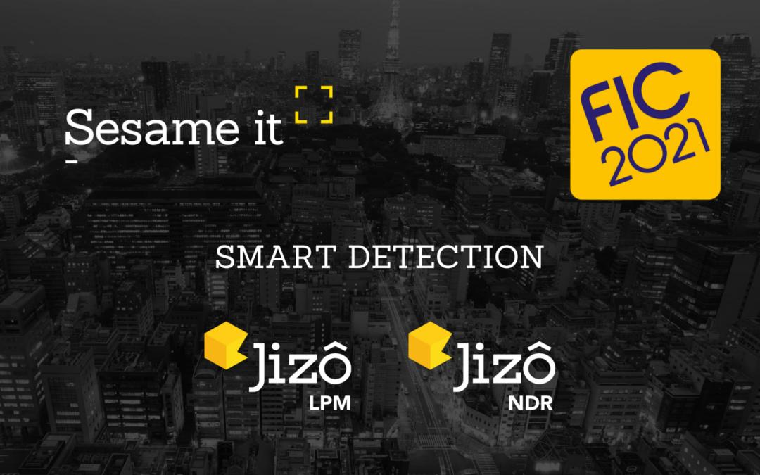 Sesame IT au FIC 2021 pour présenter l'approche Jizô de la détection des cybermenaces